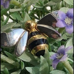 🌸Sarah Coventry Bumble  Bee brooch 🐝